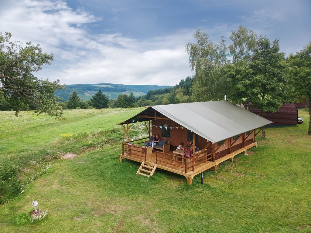 6-person safari tent 6ST on Landal Warsberg