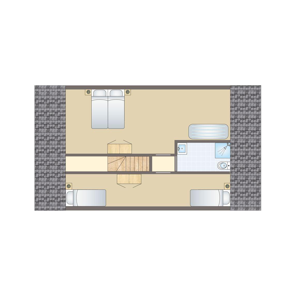 8-persoons villa