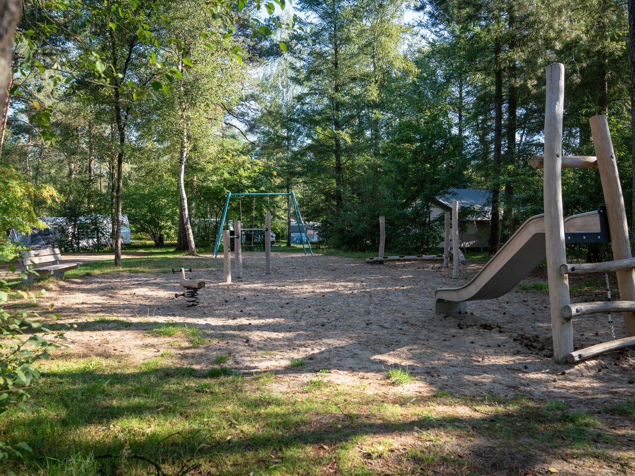 Basis campingplaats