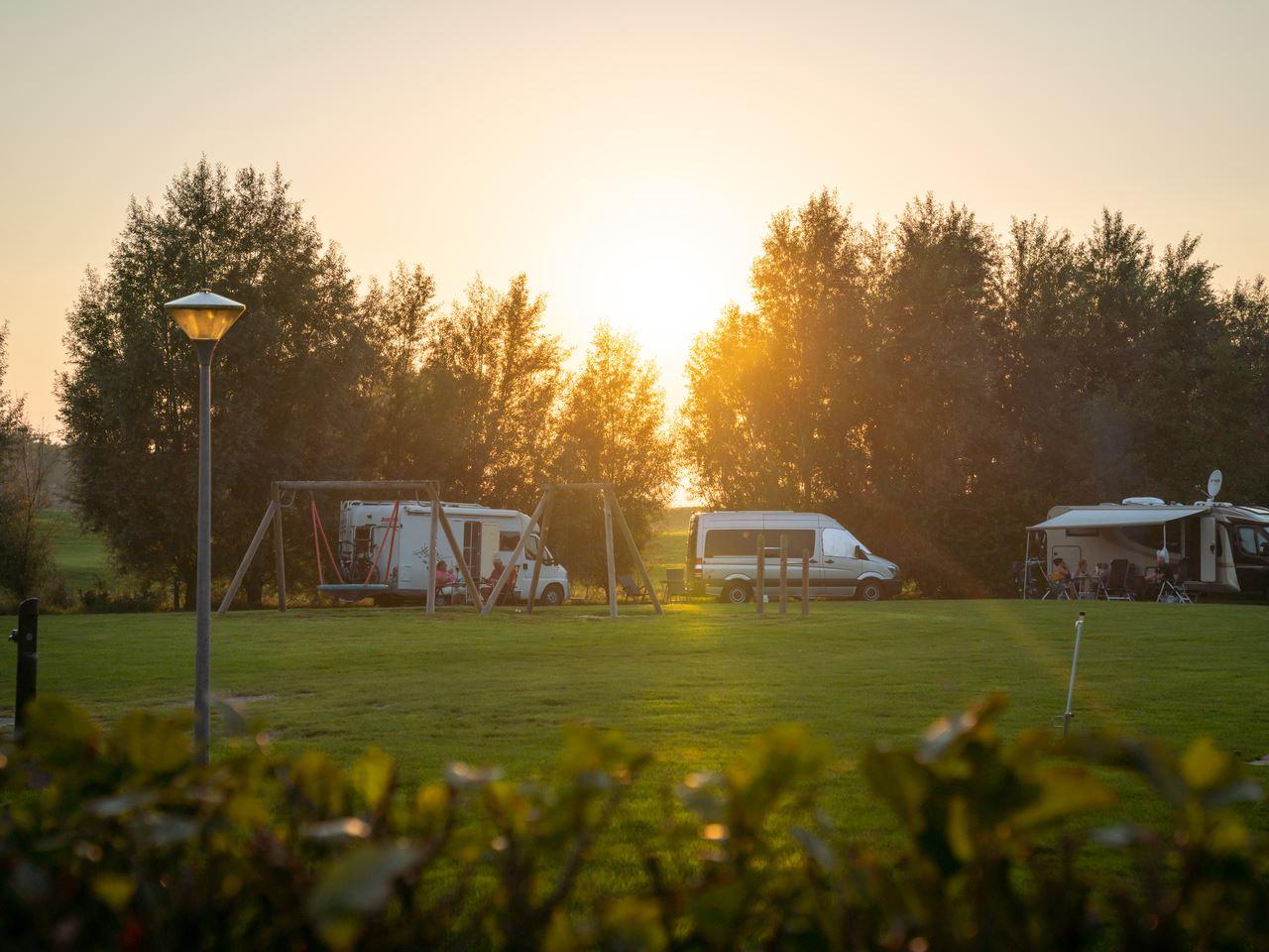 Luxe campingplaats