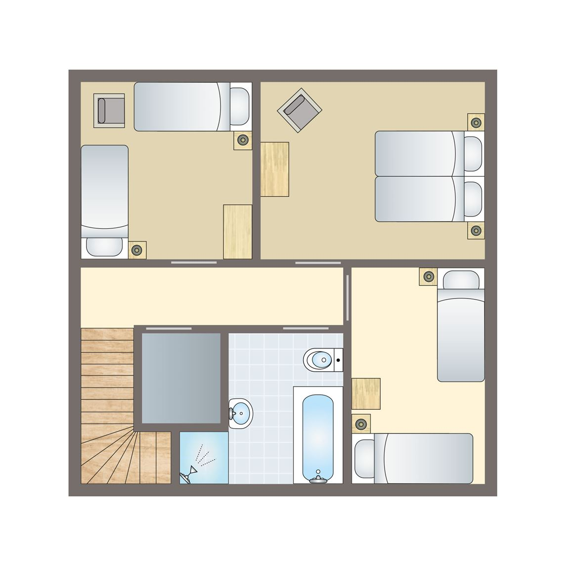 6-persoons woning
